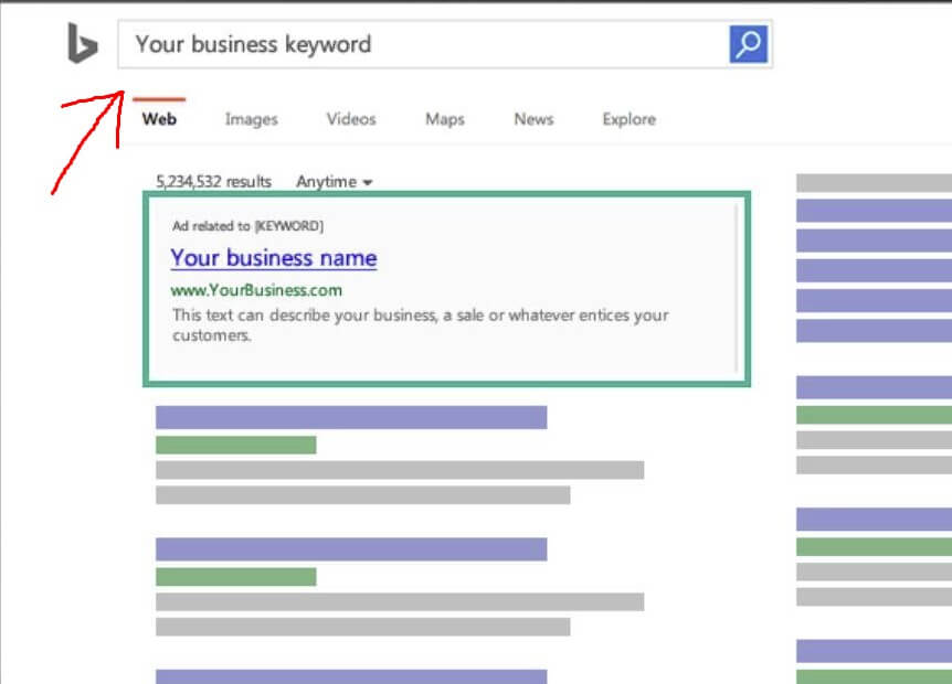 Bing Ads For Sale