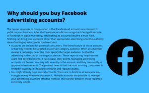 buy old facebook account for ads