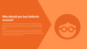 buy verified outbrain ads account